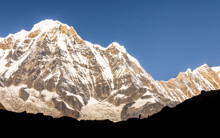 highest peaks in the world, Annapurna South, Himalayas of Nepal