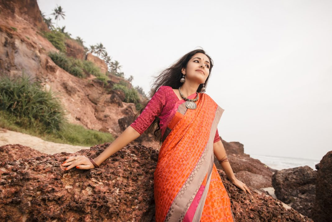 traditional saree draping styles in India