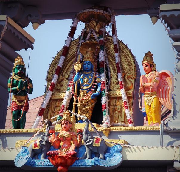 Idols of Hindu gods