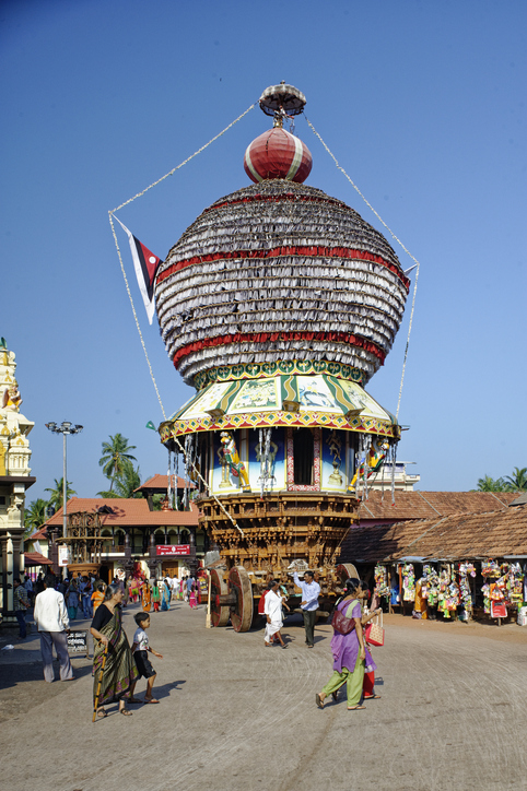 Ratha or chariot in a temple