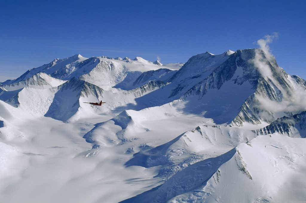 Antarctica's Highest Mountain and one of the seven summits is Vinson Massif