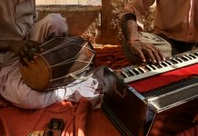 Indian musical instruments for carnatic music