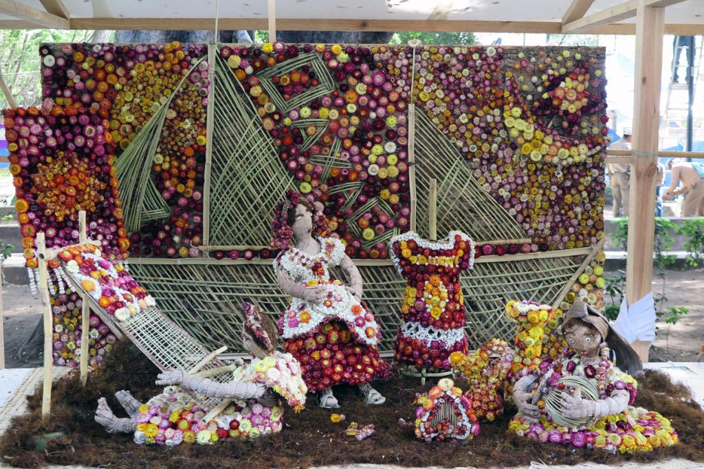 Radish carving festival in Mexico