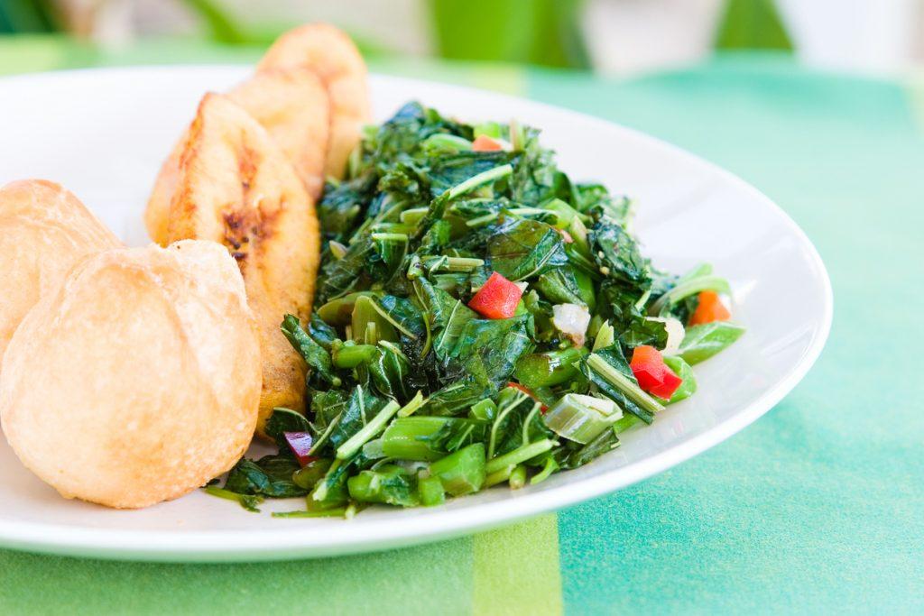 Trinidad And Tobago's Delicious Combination Of Crab And Callaloo