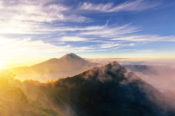 Mount Batur is among the best places to visit in bali