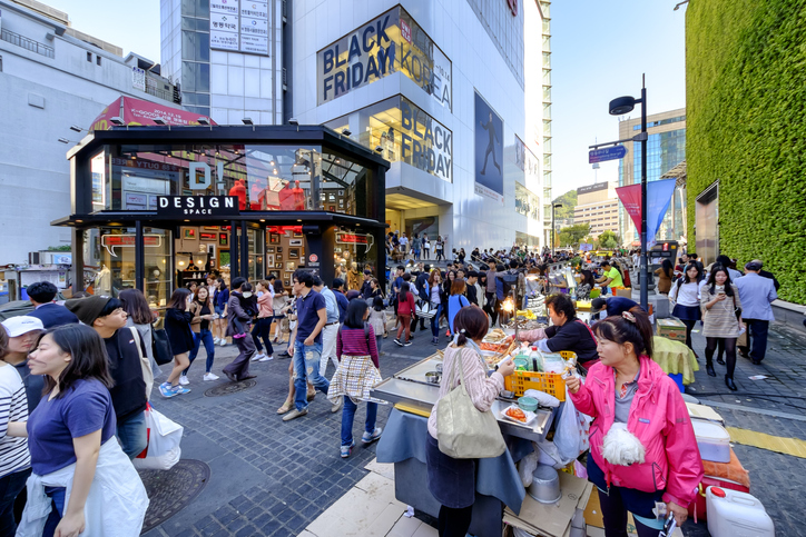 Myeongdong is one of the must-visit Shopping streets