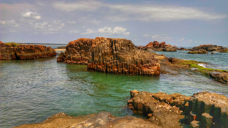 St Mary's Island in Malpe is one of the places to visit in Udupi