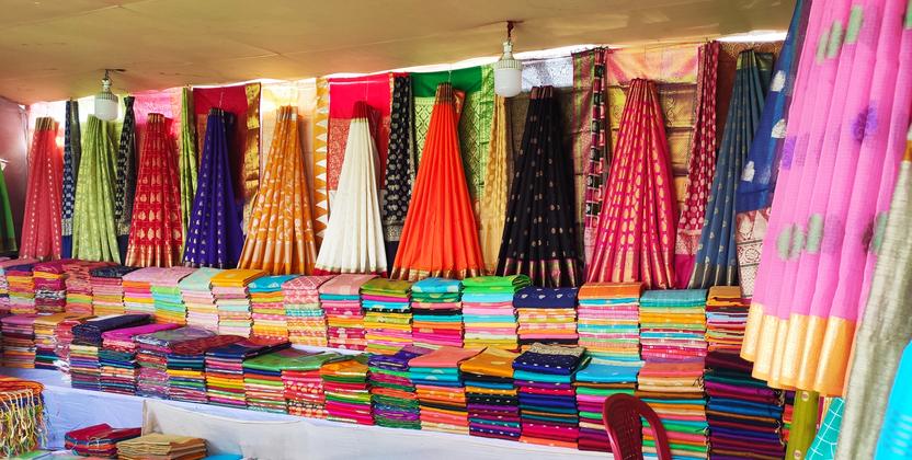 Authentic shopping in Mysore with Mysore silk sarees