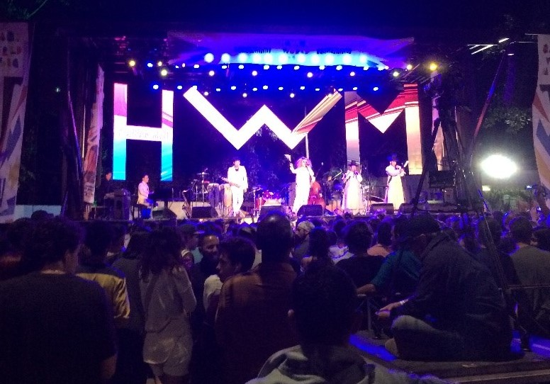 A free concert to go dancing in Havana