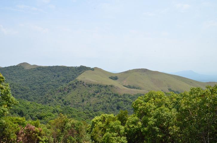 Mullayanagiri a beautiful mountain range in Chikmagalur