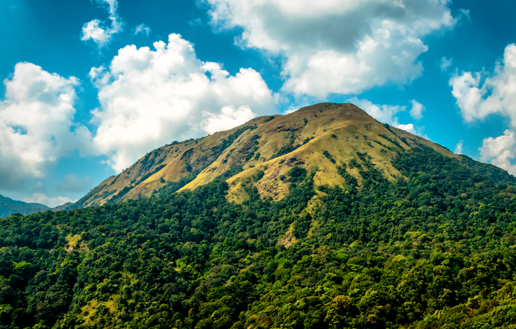 Kudremukh mountain one of the best places to visit in Chikmagalur