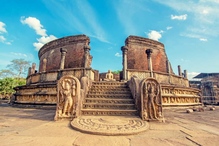 Polonnaruwa is one of the best places to visit in sri lanka
