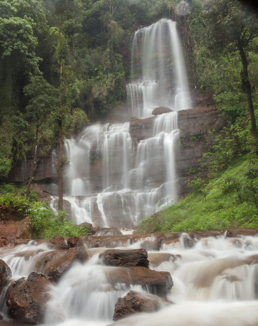 Visiting Jhari falls is one of the best things to do in Chikmagalur