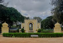 Daria Daulat Bagh, one of Tipu Sultan's palaces which served as his summer palace