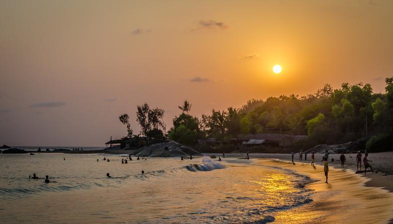 Gokarna beach is among the best beaches in Karnataka