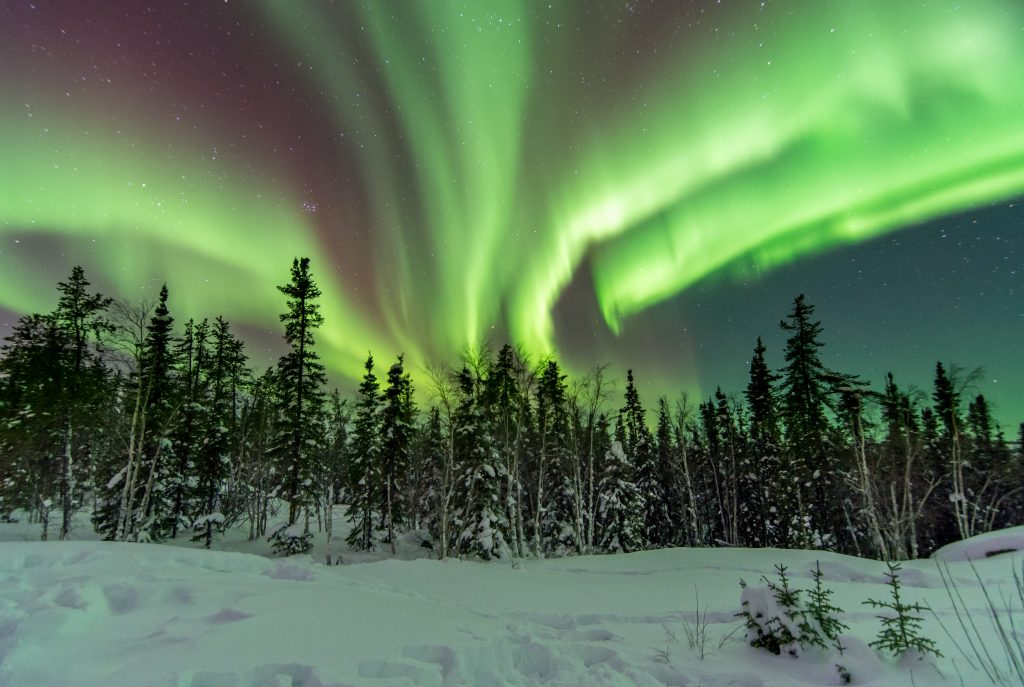 Among the world's coldest cities is Northern Lights in Yellowknife, Canada