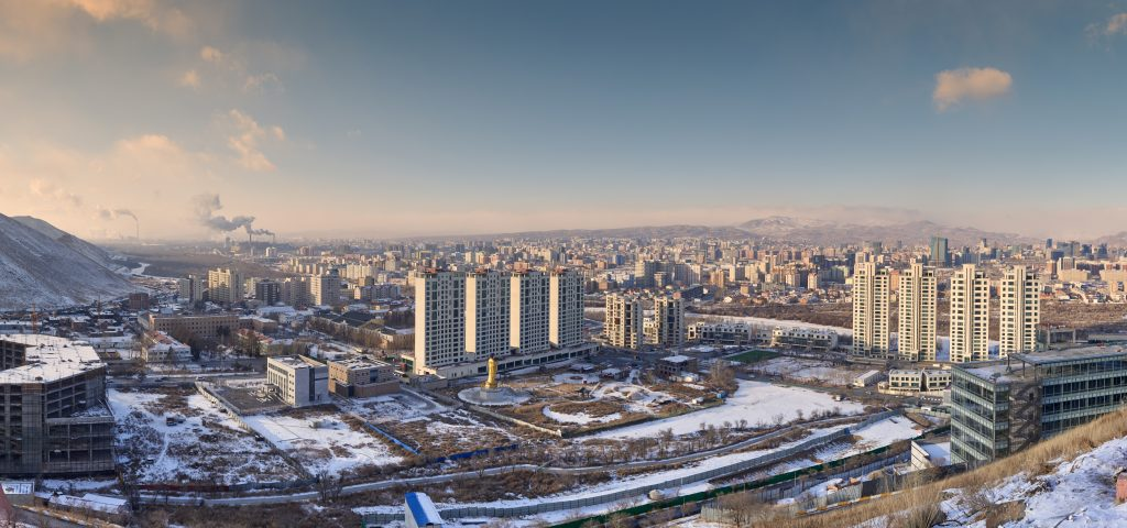 Ulaanbaatar, Mongolia is one of the coldest cities in the world