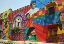 street art in Delhi