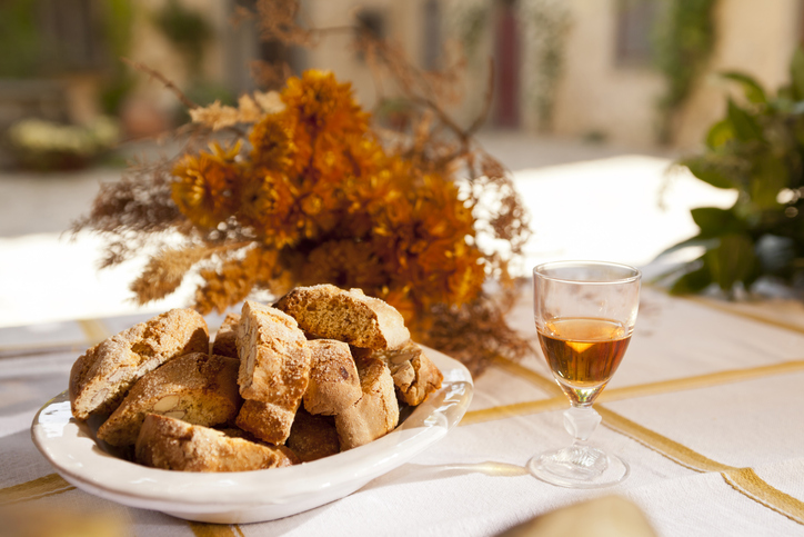 Traditional desserts in italy
