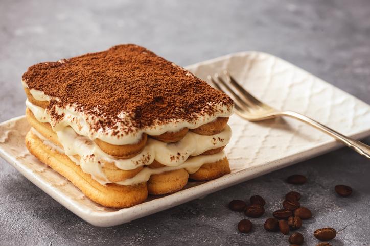 desserts in italy- Tiramisu