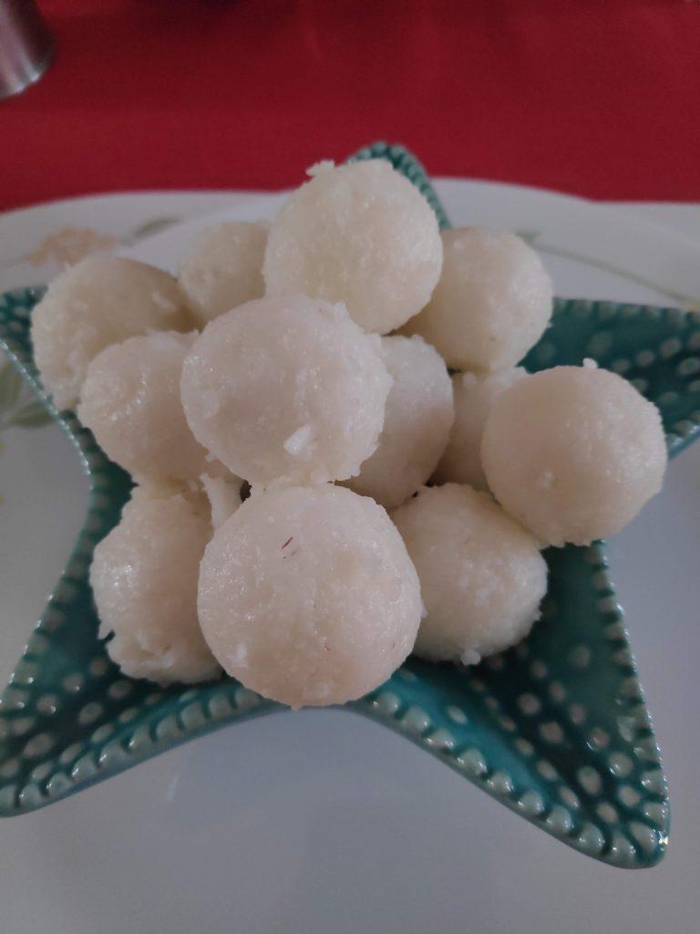 Kadambuttu or Steamed Rice Dumplings of Coorg cuisine