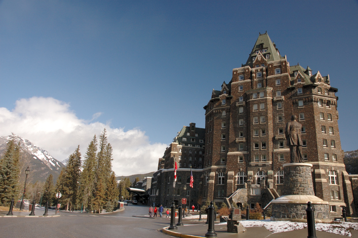 Fairmont Banff Spring Hotel, most haunted places in the world