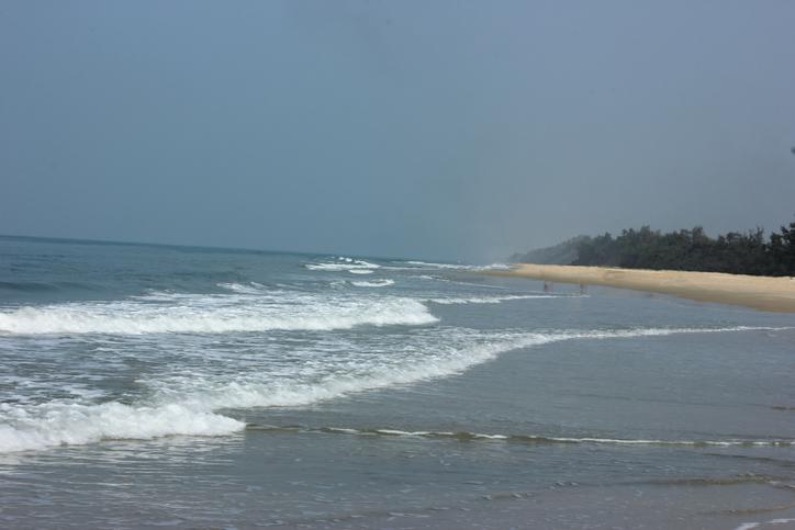 Benaulim beach in Goa, India, beaches in south goa