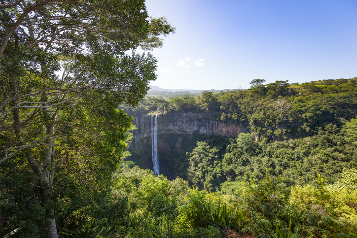 Places to visit in Mauritius, chamarel waterfalls