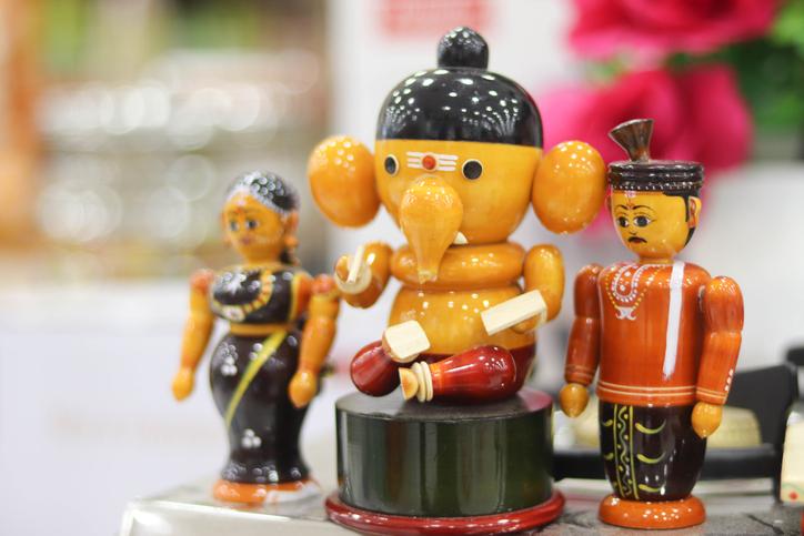 City of toys in Karnataka, India