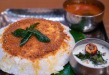 Thatte idli or plate idli from Bidadi
