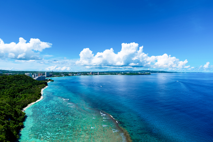 Guam two lovers point, Guam Island