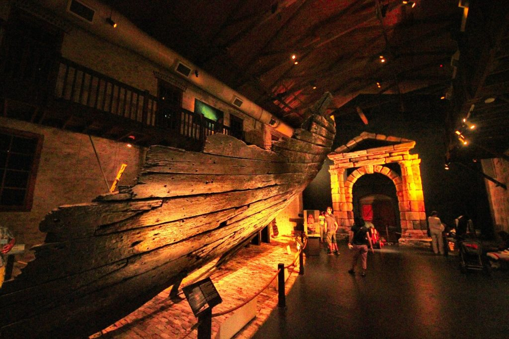 Shipwreck museum in Fremantle