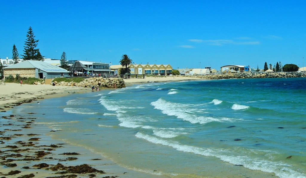 Bather's beach in Fremantle