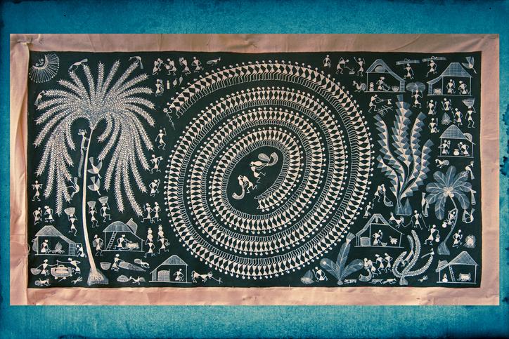 Warli wall painting, Handicraft, Maharashtra, India, traditional crafts of india