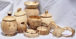 Coconut Shell Handicrafts of Kerala