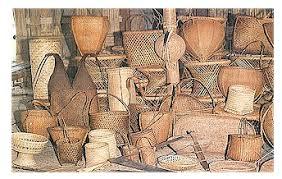 bamboo and cane craft in Arunachal Pradesh