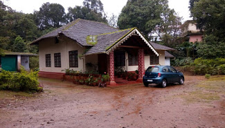 Maroon bells cottage in Coorg
