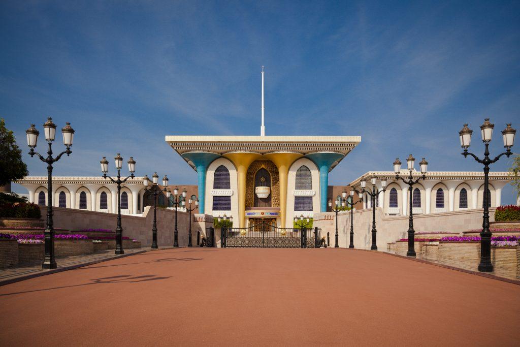 Al Alam Palace, Muscat, Oman.
