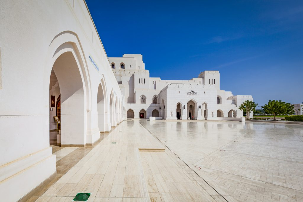 Royal Opera House in muscat, oman.