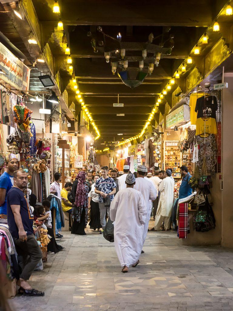 Mutrah Souk in Muscat, Oman