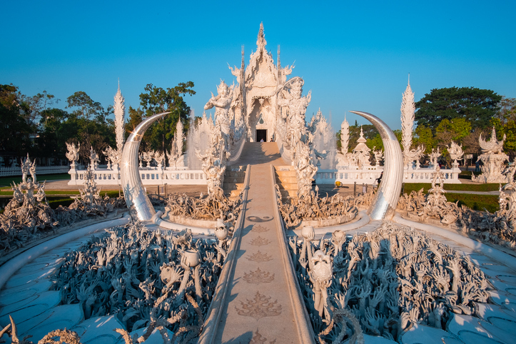 White Temple (Wat Rong Khun) in Chiang Rai Province, Thailand