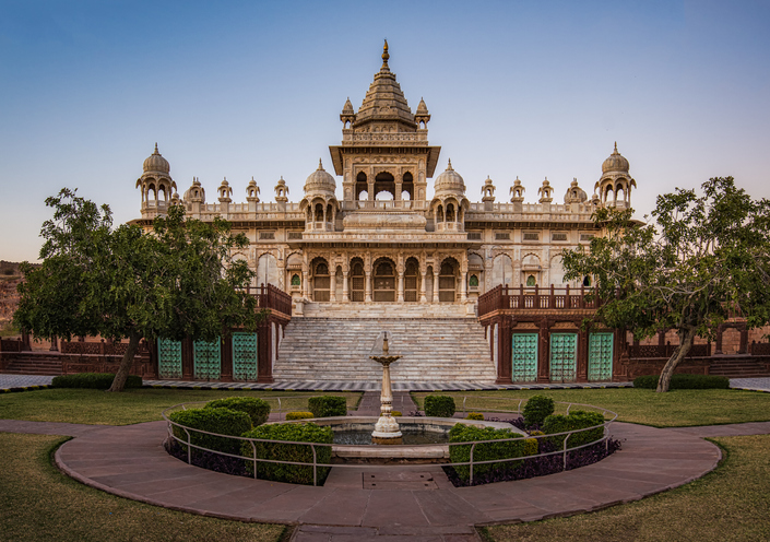 Jaswant Thada Jodhpur Rajasthan India near Mehrangarh fort Jodhpur Rajasthan