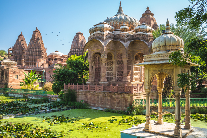 Temples in Mandore Garden near blue city, Jodhpur, india, places to visit in jodhpur
