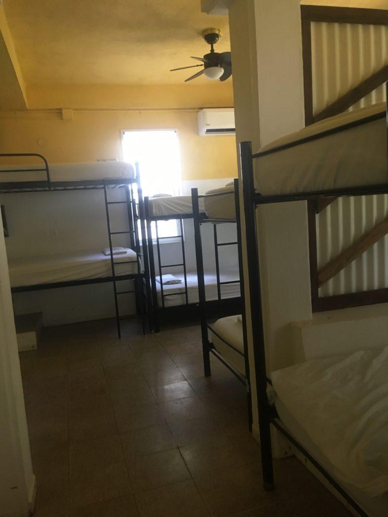 Working in a hostel