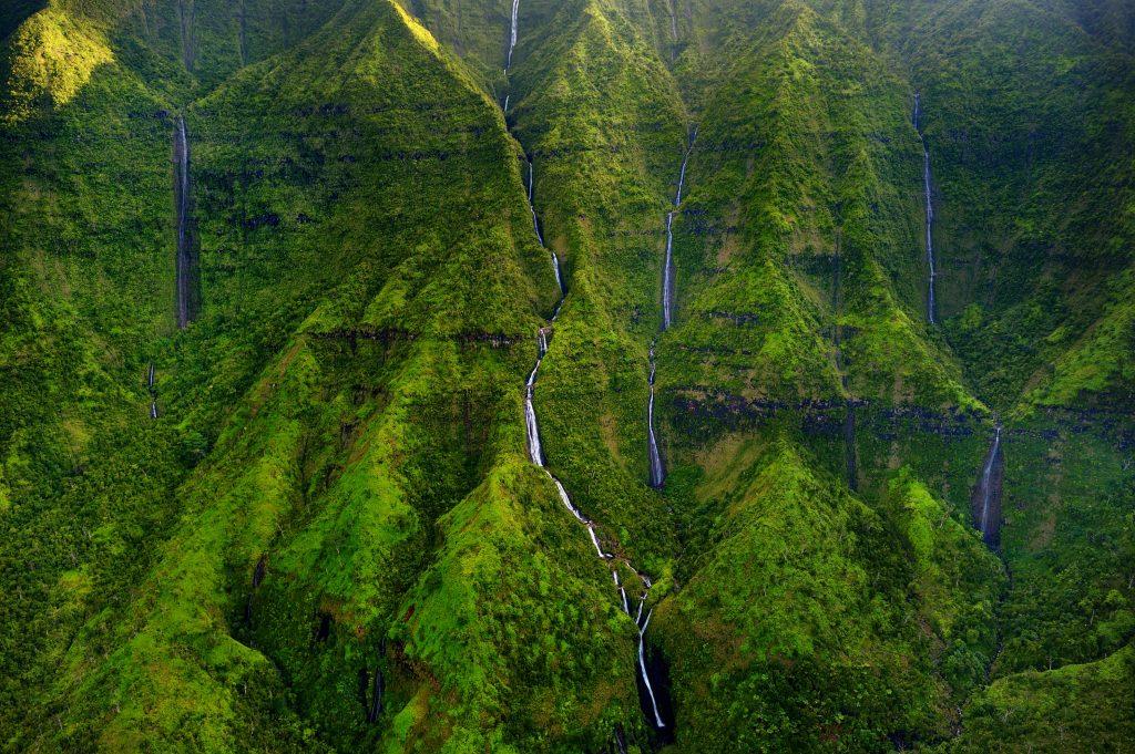 Mount Waialeale, Kauai, Hawaii
