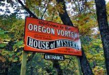 Oregon Vortex